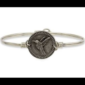 Luca and Danni silver hummingbird bracelet NWT